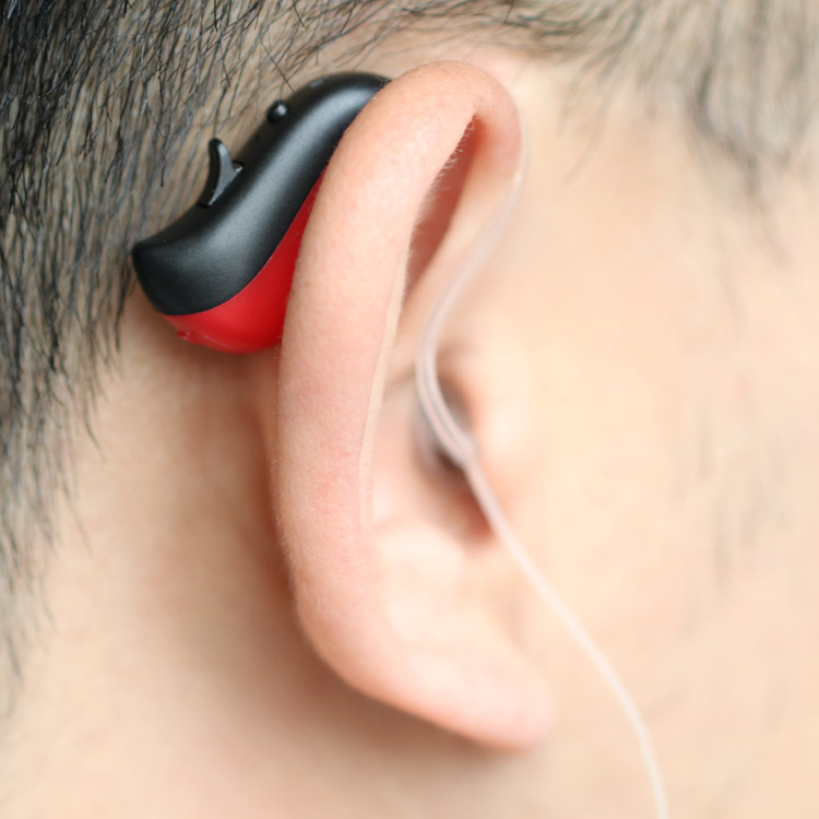 JH-D19 best computerized waterproof listening devices Hearing Intensifier with Advanced Commotion Dropping Innovation