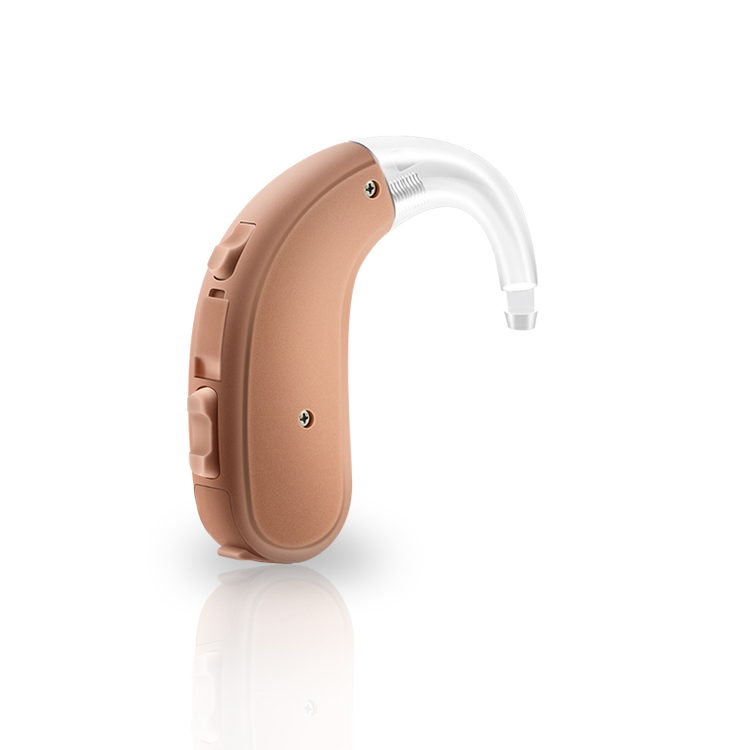 JH-d18 Hearing Amplifier Rechargeable with Digital Noise Cancelling and Feedback Cancellation, Powerful Hearing Assist for Adults and Seniors